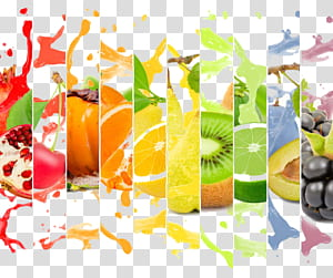 Jus d'orange Fruit, Annonce créative de jus de fruit, Collage d'agrumes png
