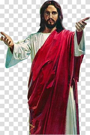 Illustration de Jésus Christ, représentation de l'icône de Jésus, Jésus Christ png