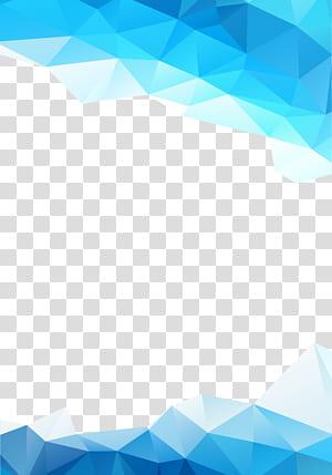 Graphiques abstraits bleus, bleus, fond bleu png