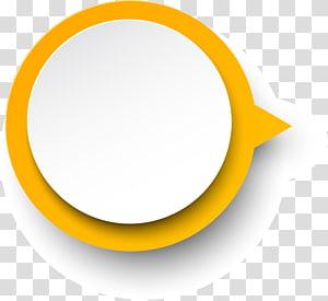 logo rond jaune et blanc, cercle jaune, cadre cercle jaune png