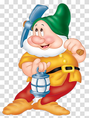 Blanche-Neige et les sept nains nains, Blanche-Neige Sept Nains Sneezy Dopey Grincheux, Nain png
