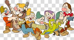 Blanche-Neige Sept Nains illustraitons, Sept Nains Mine Train Blanche-Neige La Compagnie Walt Disney, Blanche-Neige Et Les Sept Nains Gratuit png