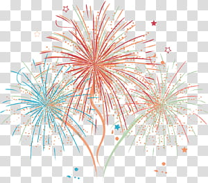Adobe Fireworks, feux d'artifice, illustration de feux d'artifice png