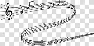 Notes de musique grises et noires, Note de musique Dessin, Notes de musique png