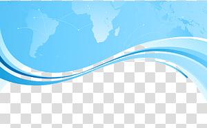 Marque de jour bleu ciel, fond de carte de visite, graphique bleu png
