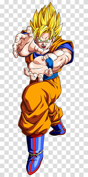 Son Goku Super Saiyan 2, Goku Android 18 Boule de Dragon Végétale Trunks, boule de dragon png