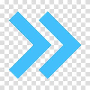 icône de flèche droite, flèche d'icônes d'ordinateur, fichier de flèche bleue png