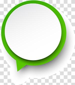 modèle vert et blanc, papier vert, cercle simple vert png