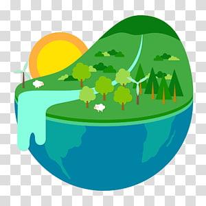 Écologie de la demi-terre Environnement naturel Biologie, énergie et protection de l'environnement png