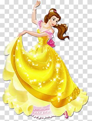 Blanche-Neige Belle Ariel Princesse Aurora Beast, Magnifiquement Princesse, Belle de La Belle et la Bête png