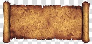 Psaumes Bible Livre des Nombres Livre du Deutéronome Livre de Ruth, bobine rétro Ragged, rouleau marron png