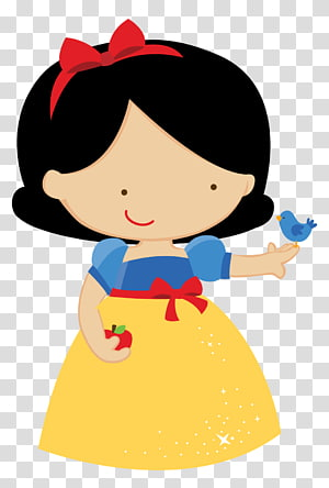 Princesse Blanche-Neige, Blanche-Neige Seven Dwarfs Party Convite Baby shower, blanche-neige png