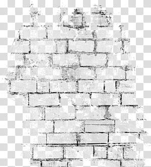 Mur de pierre brique, fond de mur de briques noires vintage, mur de briques de béton gris png