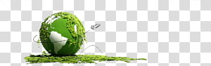 illustration de la planète terre verte, Terre Protection de l'environnement Environnement naturel respectueux de l'environnement, Terre verte png