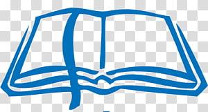 illustration de livre bleu, étude biblique Sermon Android Church, Bible png