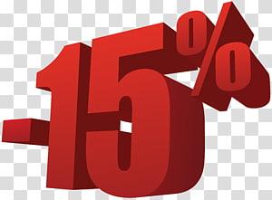 -15%, 15% de réduction sur la vente png