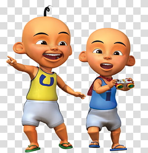 Upin et Ipin illustration, Upin et Ipin Upin Ipin Coloring Animation Les \ 'Copaque Production, amis png