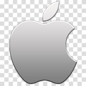Logo Apple, iPhone 6 iPod touch iOS Apple iPad, icône grise Apple png