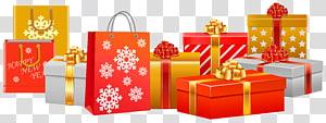 Philippines Noël cadeau Père Noël, cadeaux de Noël, cadeaux de Noël png