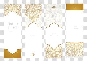 Cartes à motif ethnique, collage de cartes Ornale png