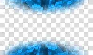 bleu, conception graphique bleue, fond de technologie png