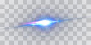 Bleu clair, effet de brillance de la lentille bleue, lumière tamisée png