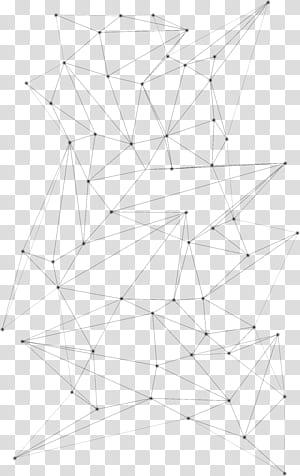 Motif de symétrie de point de ligne, motifs de lignes géométriques abstraites, illustration de lignes noires png