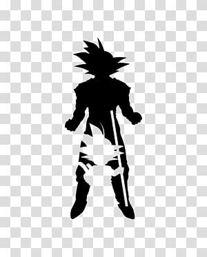 Goku Vegeta YouTube Silhouette de Dragon Ball, réflexe png