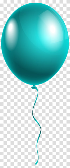 Balloon Sphere Font, ballon bleu moderne simple, ballon vert png