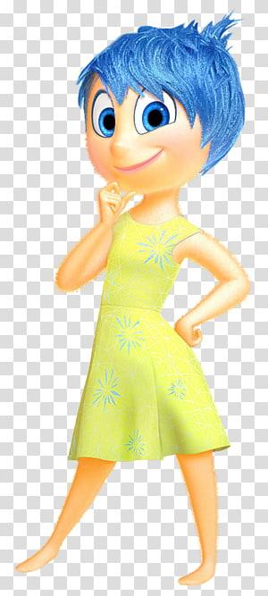 Pixar Film Information, Joy Inside Out, personnage féminin png