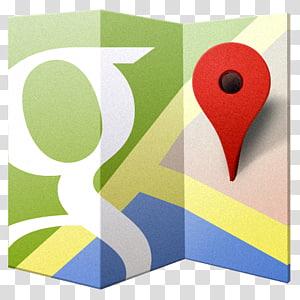 matériel de marque carrée jaune, Google Maps, logo Google Map png