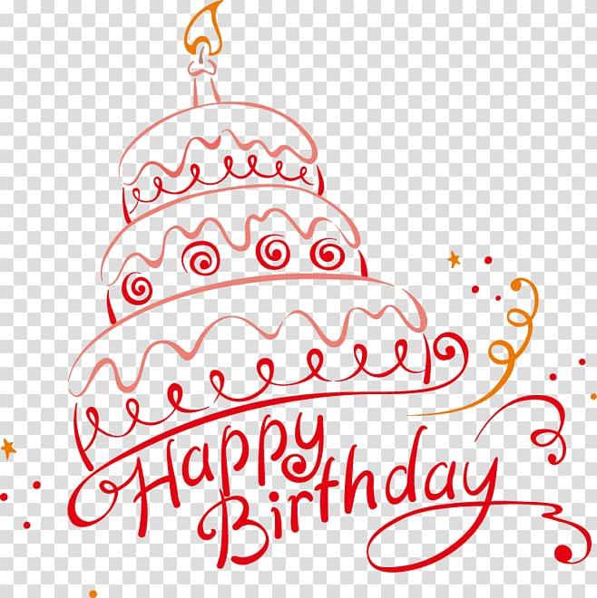 Illustration de fête de gâteau d'anniversaire, joyeux anniversaire, illustration de gâteau de joyeux anniversaire png