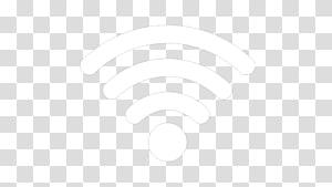 Ligne Point d'angle noir et blanc, icône Wifi, logo Wi-Fi png