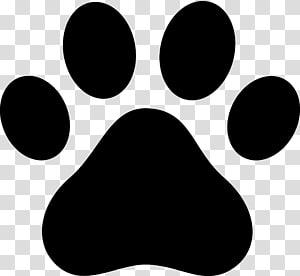 Sticker patte de chien, impression patte png