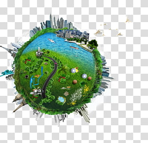 petit monde, industrie, économie d'énergie, industrie, fabrication, économie d'énergie, terre verte png
