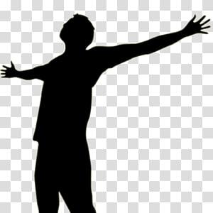silhouette d'homme, Heights Baptist Church Musique d'adoration contemporaine Dieu de prière, CULTE png