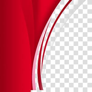 Modèle de carte de visite rouge de marque png