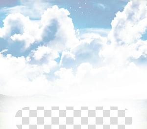illustration de nuages, Cumulus Sky rêver éveillé (Original Mix) Mer de nuages, nuages png