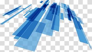 bleu et turquoise, Line Science Technology, Lignes bleues abstraites de science et technologie png
