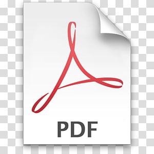 Illustration d'icône PDF, format de document portable Adobe Acrobat Icônes d'ordinateur Adobe Reader, icône de fichier PDF png