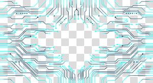 Conception graphique, modèle de carte électronique, carte de circuit imprimé png