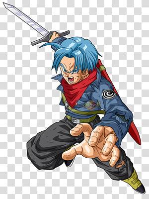 Dragon Ball Z Trunks art, Dragon Ball FighterZ Trunks Goku Frieza Vegeta, super png