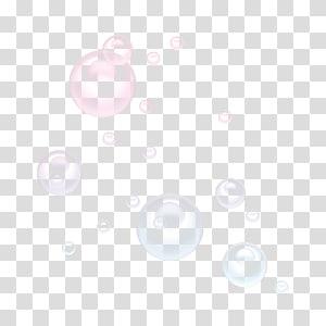bulles, cercle blanc, bulle de savon png