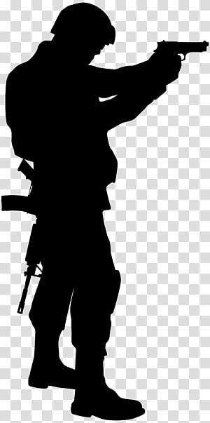 Soldier Silhouette, Soldier Silhouette png