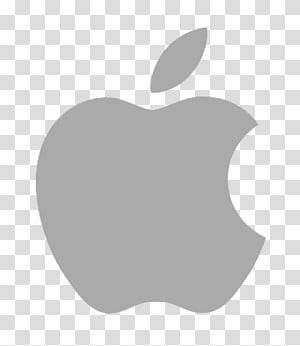 Logo de la marque Apple, icône de format icône Apple Macintosh, logo gris pomme png