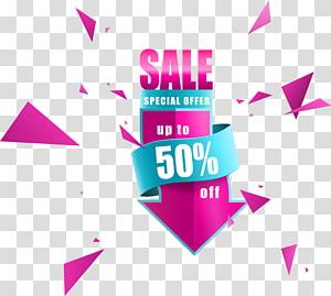 Promo Offre jusqu´à 50%, Affiche Euclidienne, vente au rabais arrow png