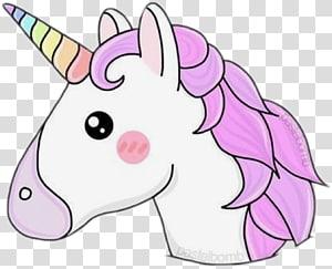 illustration de licorne blanche et rose, Unicorn Desktop Pastel, Licorne png