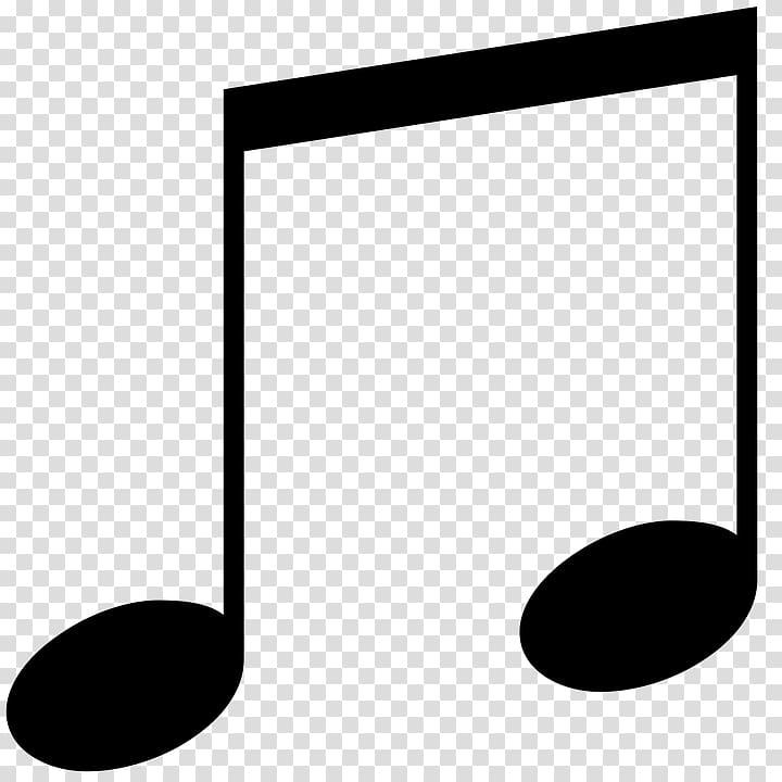 Note de musique Croche Symboles de musique, Notes de musique png
