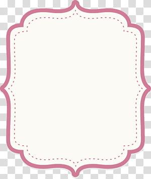 Icône, bordure de texte en poudre bébé mignon, fond blanc png