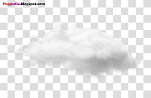 Modèle de nuage de ciel noir et blanc, fichier de nuages, nuages blancs png
